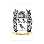 Iannetti Sticker (Rectangle 50 pk)