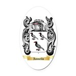 Iannello Oval Car Magnet
