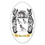 Iannelli Sticker (Oval 50 pk)