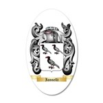Iannelli 35x21 Oval Wall Decal
