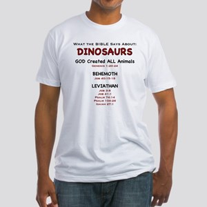 Dinosaurs - Fitted T-Shirt