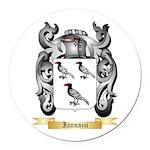 Iannazzi Round Car Magnet