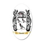 Ianitti 35x21 Oval Wall Decal