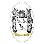 Ianittello Sticker (Oval 50 pk)