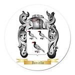 Ianiello Round Car Magnet