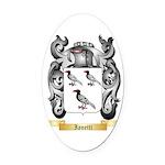 Ianetti Oval Car Magnet