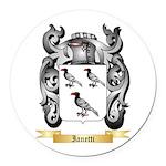 Ianetti Round Car Magnet