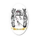 Ianetti 35x21 Oval Wall Decal