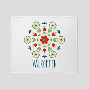 Valkommen Throw Blanket