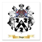 Iago Square Car Magnet 3