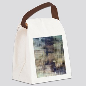 Blue Jeans Canvas Lunch Bag