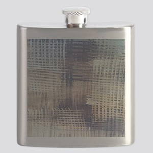 Blue Jeans Flask