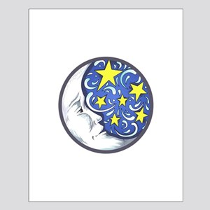 MOON AND STARS Posters