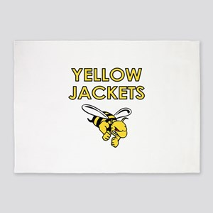 YELLOW JACKETS FULL CHEST 5'x7'Area Rug
