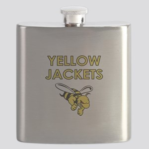 YELLOW JACKETS FULL CHEST Flask