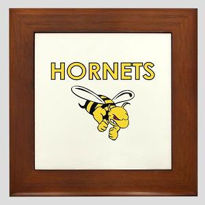 HORNETS FULL CHEST Framed Tile