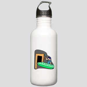 Assembly Line Worker Water Bottle