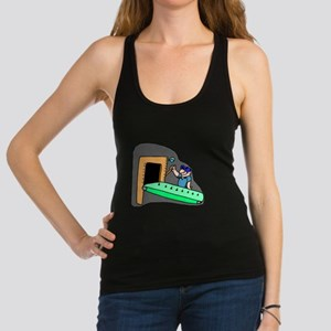 Assembly Line Worker Racerback Tank Top