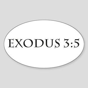 Exodus 3:5 Sticker