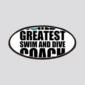 World's Greatest Swim And Dive Coach Patch
