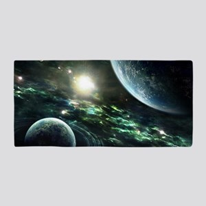 Outer Space Another World Beach Towel