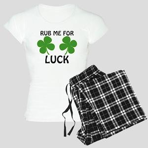 Rub Me For Luck Women's Light Pajamas