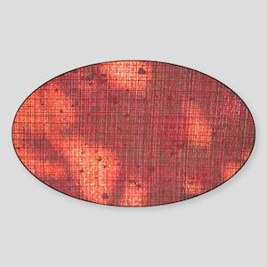 Textured Shadows Sticker (Oval)