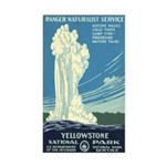 YELLOWSTONE NATIONAL PARK vinyl sticker