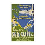 SEA CLIFF vinyl sticker