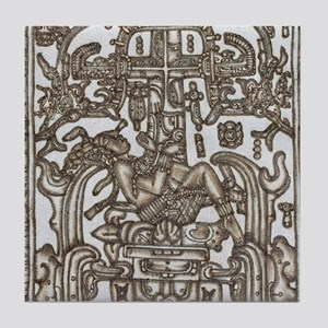 Mayan Ruler Pakal Kim Tile Coaster