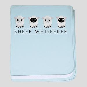 Sheep Whisperer baby blanket
