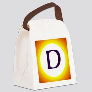 Monogram D Canvas Lunch Bag