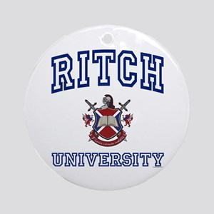 RITCH University Ornament (Round)