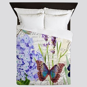 New botanical Queen Duvet
