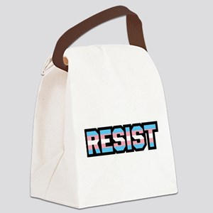 Resist - Trans Pride Canvas Lunch Bag