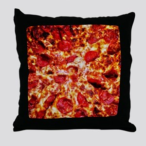 Pizza Painting Throw Pillow