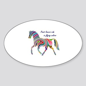 paint horse lovers Sticker