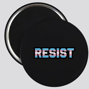 Resist - Trans Pride Magnet