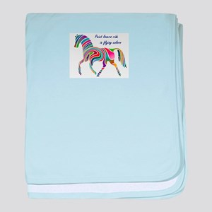 paint horse lovers baby blanket