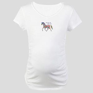 paint horse lovers Maternity T-Shirt