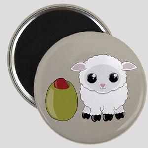 Olive Ewe Magnets