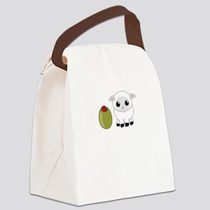 Olive Ewe Canvas Lunch Bag
