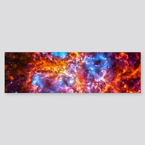 Colorful Cosmos Bumper Sticker