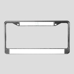 Notebook paper License Plate Frame