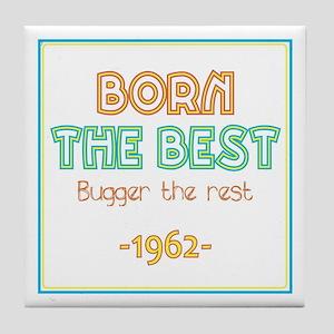 Born the Best 1962 Tile Coaster