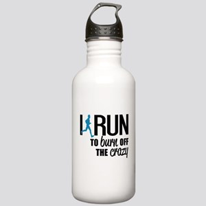 I run to burn off the crazy Water Bottle