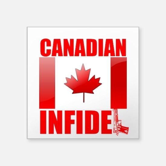 CANADIAN INFIDEL Sticker