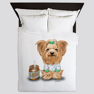 Peanut Butter Lover ByCatiaCho Queen Duvet