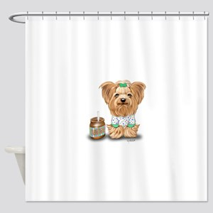 Peanut Butter Lover ByCatiaCho Shower Curtain