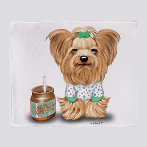 Peanut Butter Lover ByCatiaCho Throw Blanket